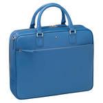 鮮やかなターコイズブルーを纏うドキュメントケース|MONTBLANC ギャラリー