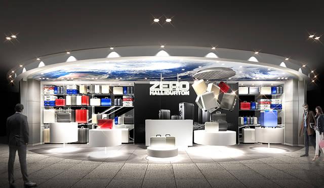 ゼロハリバートン、「GINZA SIX」に新店オープン|ZERO HALLIBURTON ギャラリー
