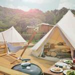 1泊2日のグランピング宿泊体験が当たる「MOET SUMMER HOUSE CAMPAIGN」 MOËT & CHANDON ギャラリー