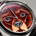 「スリム ドゥ エルメスGRRRRR!」エルメスの熊が文字盤に収まるっ!|HERMÈS ギャラリー