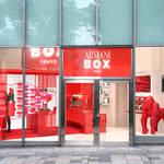 日本初のポップアップストア「アルマーニボックス」オープン|GIORGIO ARMANI BEAUTY ギャラリー