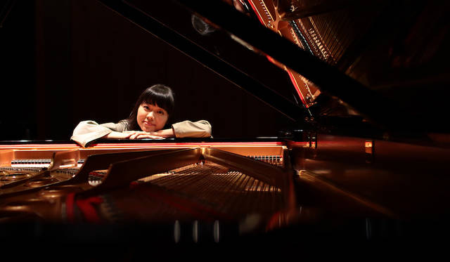MUSIC|ピアニスト上原ひろみインタビュー ギャラリー