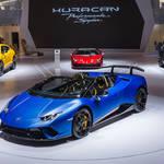 ウラカンの最高峰コンバーチブル「ペルフォルマンテ スパイダー」登場 Lamborghini ギャラリー
