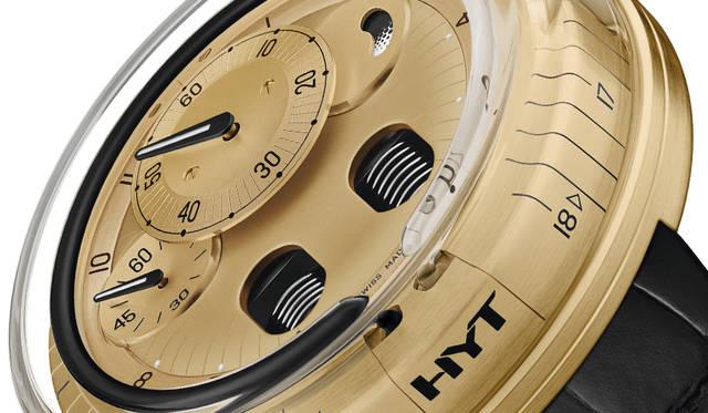 NEWモダンなカラーコントラスト。BLACK & GOLDに彩られた「H0」最新モデル|HYT ギャラリー