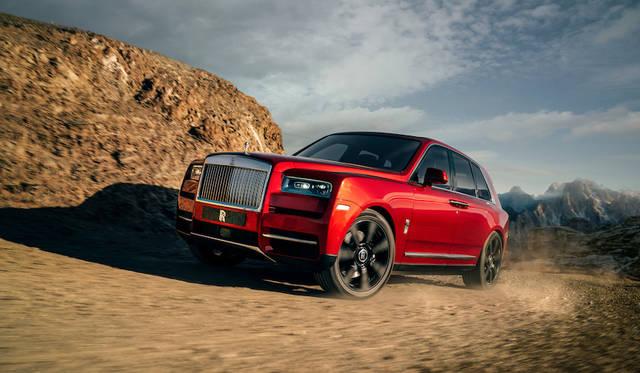 ロールス・ロイス初のSUV「カリナン」をワールドプレミア|Rolls-Royce ギャラリー