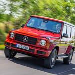 新型メルセデス・ベンツGクラスに試乗|Mercedes-Benz ギャラリー