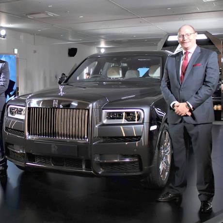ロールズのSUV「カリナン」日本上陸|Rolls-Royce|ギャラリー