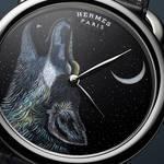 世界限定8本 夜空に吠えるオオカミを描いた「アルソー Awooooo」|HERMÈS ギャラリー