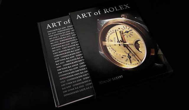 ヴィンテージ・ロレックス100本を撮り下ろしたアートブック『ART of ROLEX』|BOOK ギャラリー