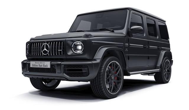 内外装をブラックで統一したAMG G 63を期間限定で受注|Mercedes-AMG ギャラリー
