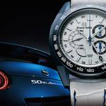 スプリングドライブ20周年とNISSAN GT-R50周年を祝す数量限定モデル GRAND SEIKO ギャラリー