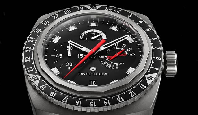 「レイダー・ビバーク 9000」に初のブラックモデルが登場|FAVRE-LEUBA ギャラリー