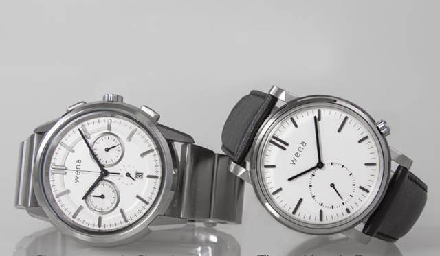ソニーの「wena™ wrist」から、新型ヘッド2モデルが登場|Sony ギャラリー