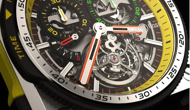ベル&ロス × Renault F1® Teamコラボの最高峰は、トゥールビヨン搭載モデル|Bell & Ross ギャラリー