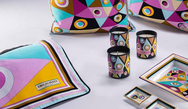 インテリアに彩りを添える、エミリオ・プッチ「オブジェクト コレクション」|EMILIO PUCCI ギャラリー