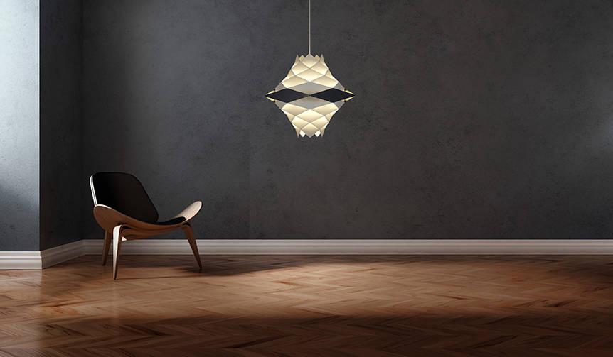 点灯時は光の彫刻、消灯時は美しいオブジェになる「H・F Series」|yamagiwa