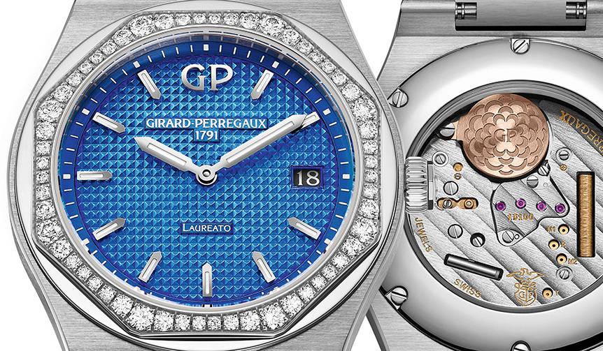 ブルーダイヤルにダイヤモンドベゼルを添えた、クリアな「ロレアート」|GIRARD-PERREGAUX