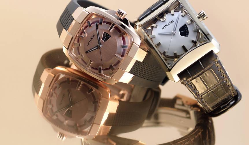 オリジナル国産腕時計ブランド「MINASE」よりミッドサイズが登場|MINASE
