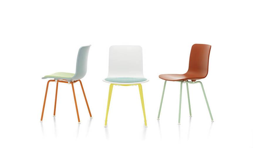 ジャスパー・モリソンがデザインしたシェルチェア「ハル」に、色鮮やかな限定カラーリング Vitra