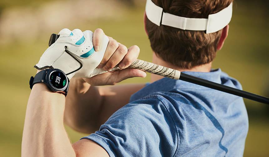 ゴルフに最適化されたスマートウオッチ「Galaxy Gear S3 frontier Golf edition」|Galaxy