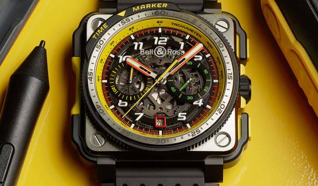 F1 ®の世界にフォーカスしたエクストリームモデル「BR-X1 R.S.19」|Bell & Ross