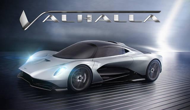 アストンの新型ミッドシップHVモデル名は「ヴァルハラ」に決定|Aston Martin