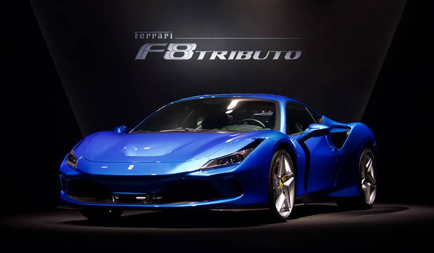 最新のV8フェラーリ「F8トリブート」日本上陸|Ferrari