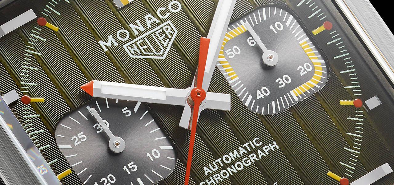 タグ・ホイヤーがアイコンモデル「モナコ」誕生50年記念エディションを発表|TAG Heuer