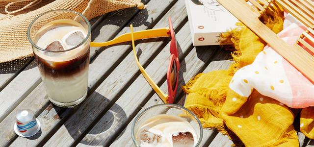 ネスプレッソでアイスコーヒーを! 夏の数量限定2テイストをリリース|NESPRESSO