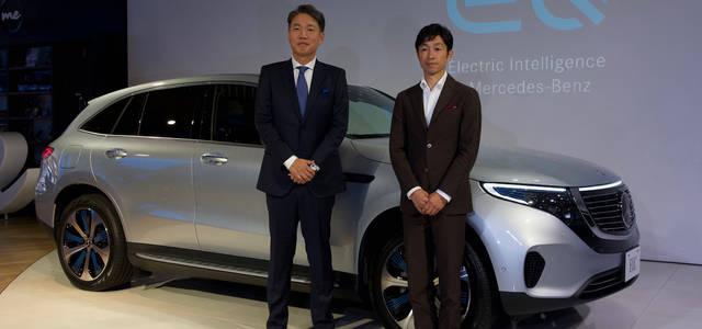 メルセデス・ベンツ初の電気自動車「EQC」を日本初公開|Mercedes-Benz