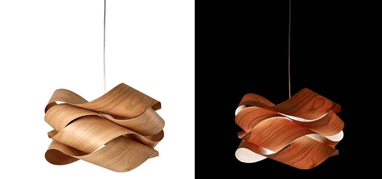 スペイン・バレンシア発の照明メーカー。三次元加工した動きのあるシェード|Lzf