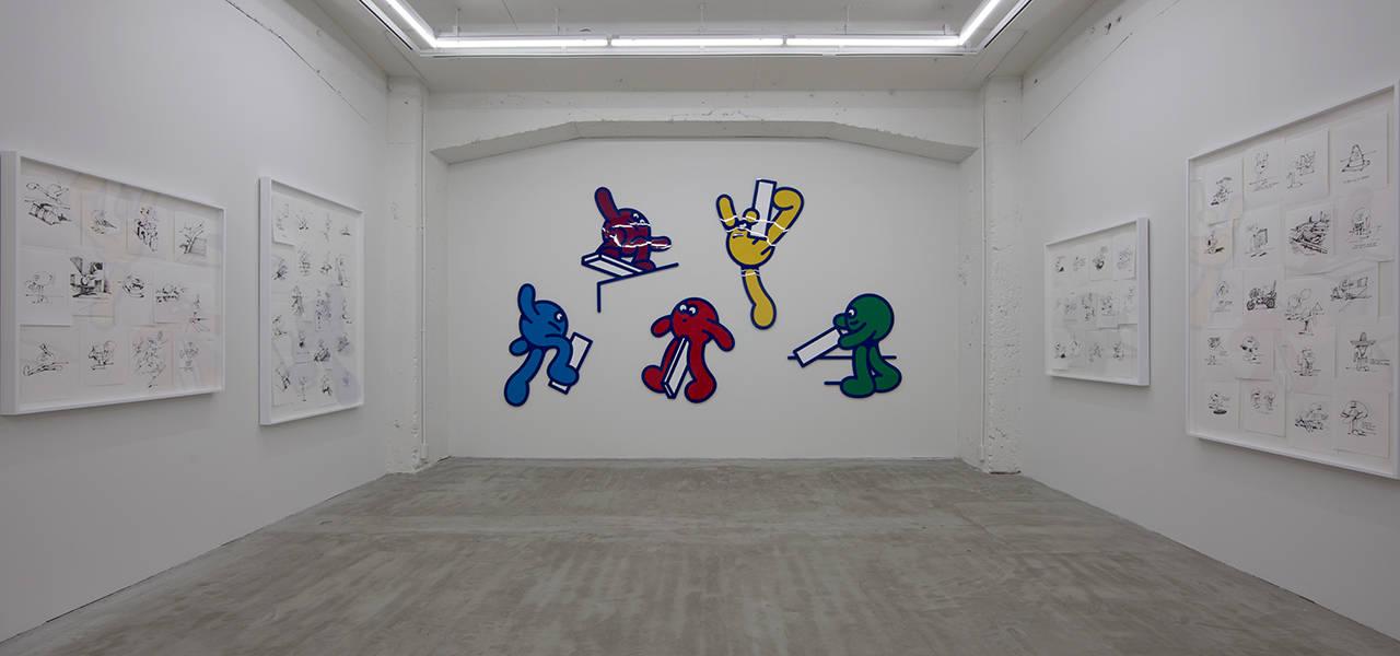 ジェームス・ジャービス新作展「Throw-ups」渋谷NANZUKAで開催|ART
