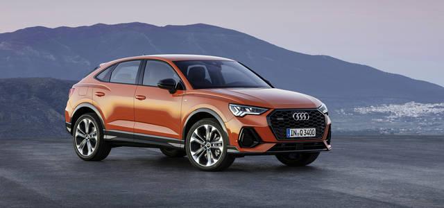 クーペシルエットの新型コンパクトSUV アウディ「Q3スポーツバック」デビュー|Audi