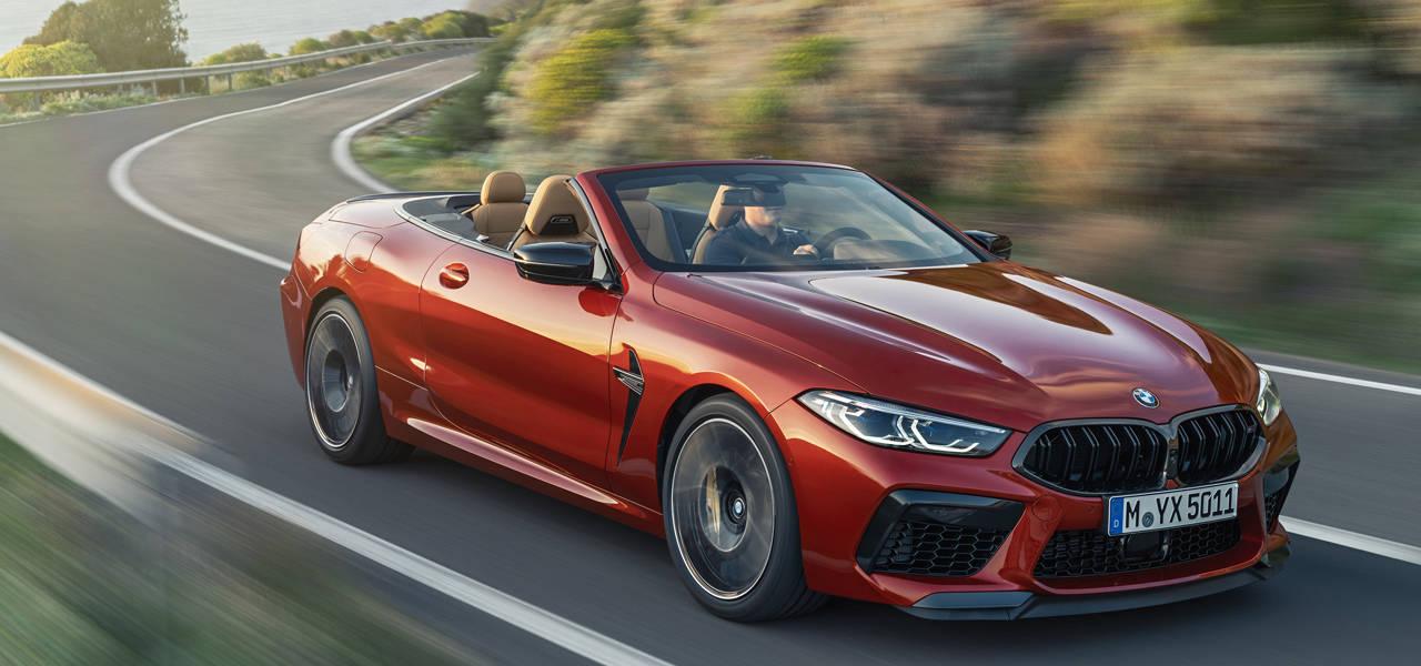 M社のフラッグシップオープンカー「M8カブリオレ」販売開始|BMW