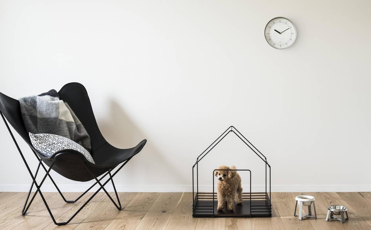 住空間に調和するスタイリッシュなペットハウスが誕生|sanwacompany