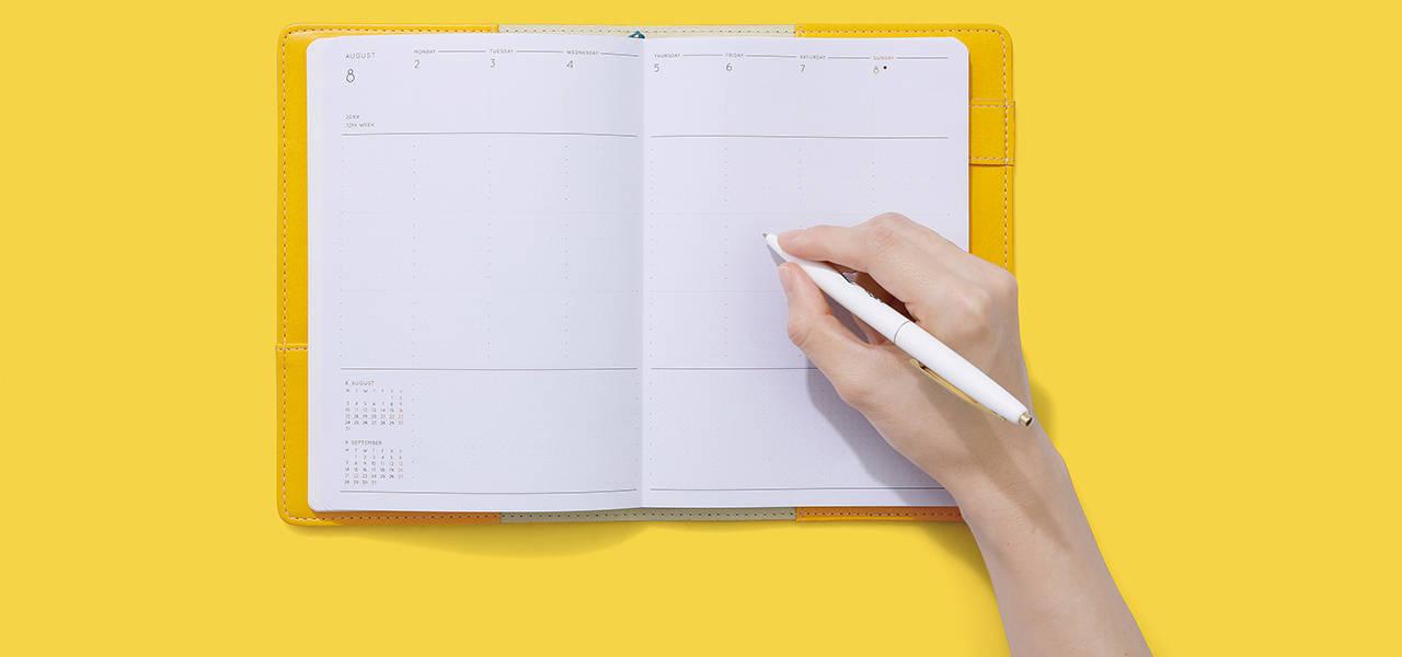 2020年の手帳が販売スタート。待望の新フォーマットがラインナップ| HIGHTIDE