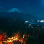 月明かりの夜を愛でる。星のや富士が「富士ムーンライトトレッキング」を開催|HOSHINOYA Fuji