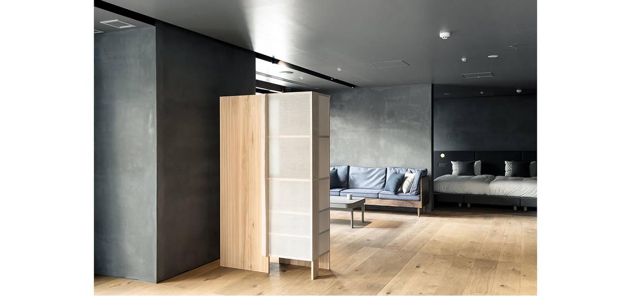 クラフトの技と精神を発信。「HAMACHO HOTEL」内の特別な客室 |TOKYO CRAFT ROOM