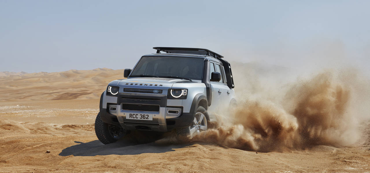 71年ぶりに生まれ変わった新型「ディフェンダー」をワールドプレミア|Land Rover