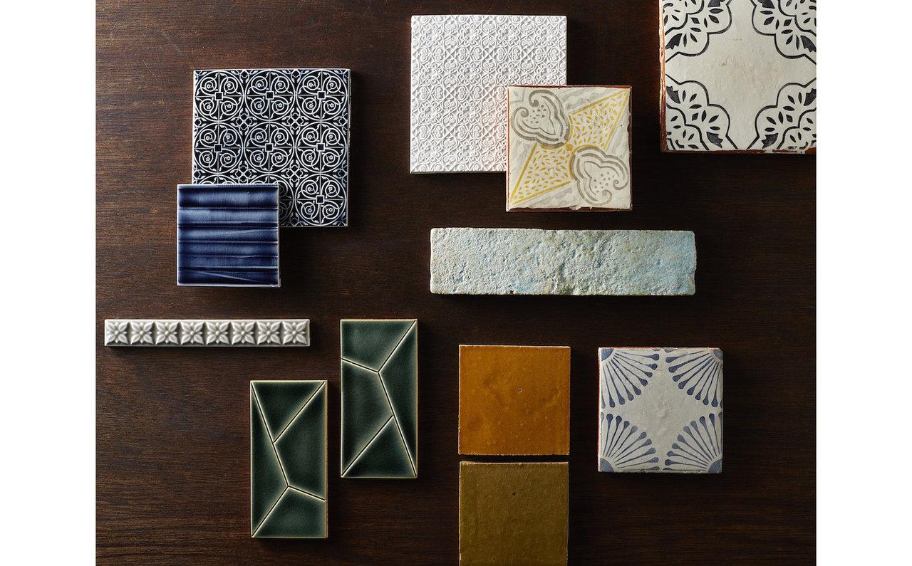 焼きものの魅力、タイルの表現性を楽しむクラフトタイルコレクション「BISCUIT」|HIRATA TILE