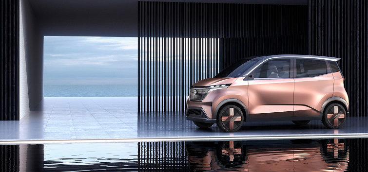 東京モーターショー2019でEVコンセプトカー「ニッサン IMk」を世界初披露|Nissan