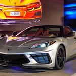 ミドシップスポーツに生まれ変わった新生コルベットのコンバーチブルモデルがワールドプレミア| Chevrolet