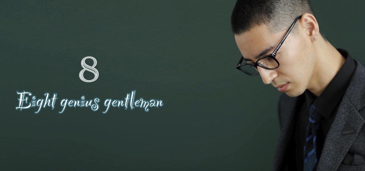 カルバン・クラインの最新アイウェア「Eight Genius Gentlemen」|CALVIN KLEIN