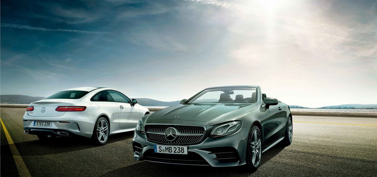 Eクラス クーペとカブリオレに新パワートレインを導入|Mercedes Benz