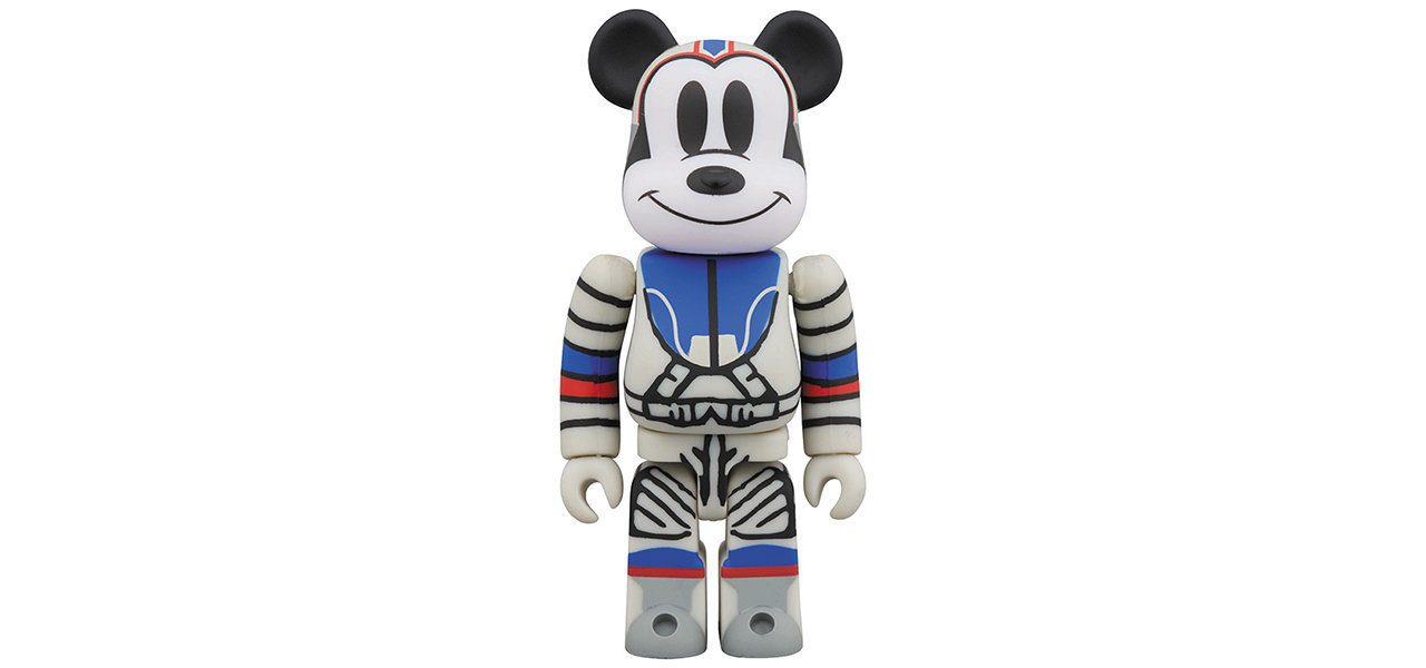 BE@RBRICK BILLIONAIRE BOYS CLUB MICKEY MOUSE 100% & 400% / 1000%|MEDICOM TOY