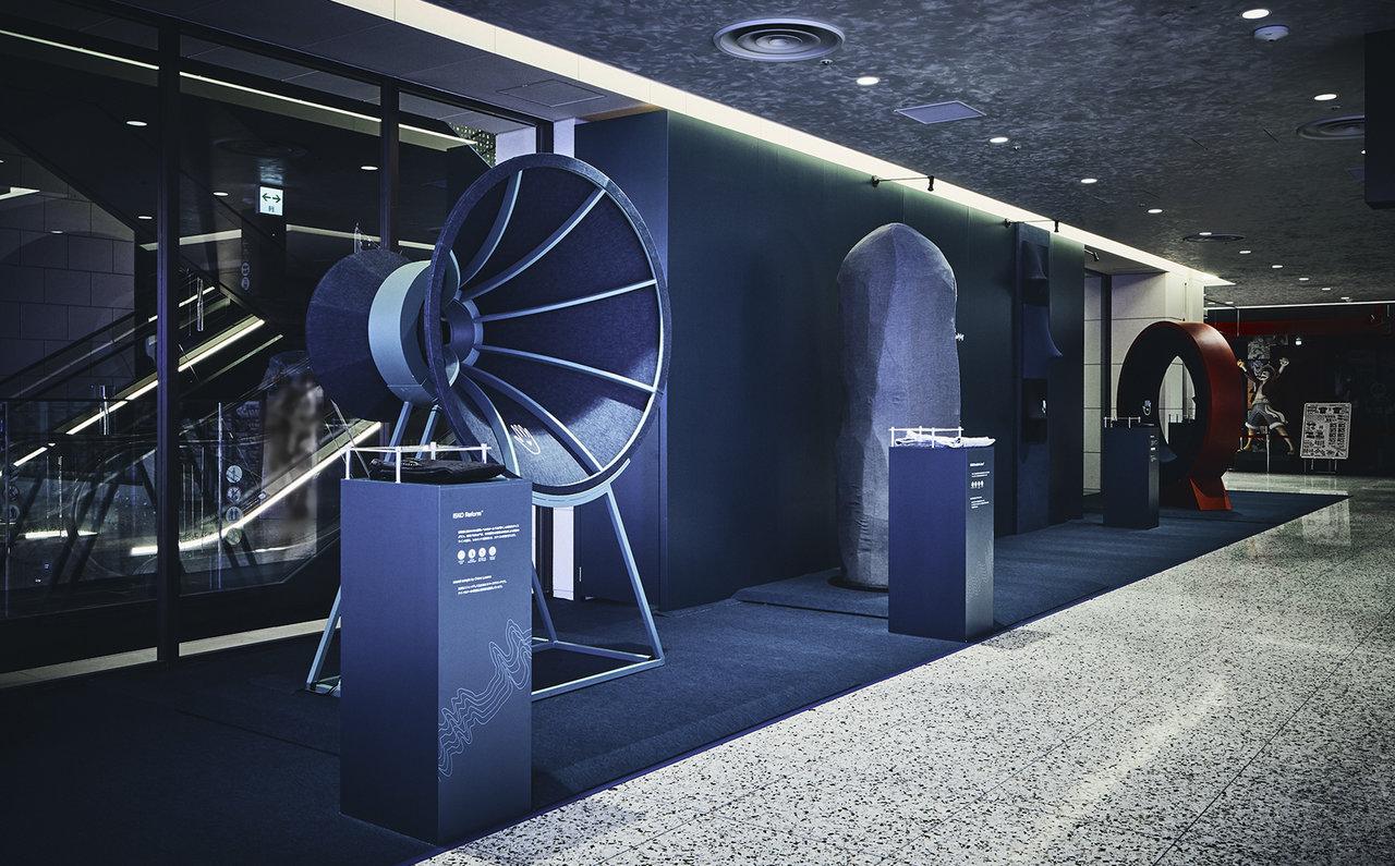 世界最大のデニム生地ブランドが大丸心斎橋店でインスタレーションを実施中|ISKO™