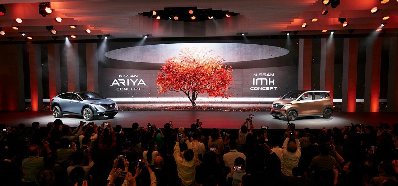 日産の未来のEVを提示する2台のコンセプトカーが東京モーターショー2019に登場 |Nissan