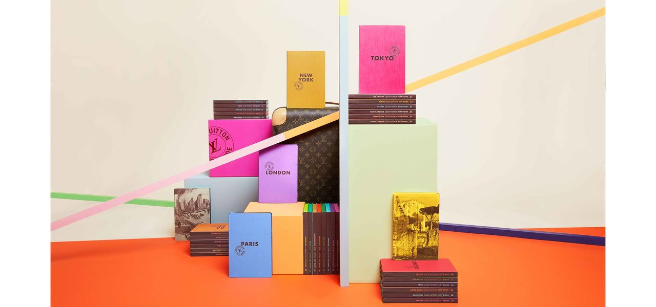 ルイ・ヴィトンが発行する、旅をテーマにした2つのブックコレクション|LOUIS VUITTON