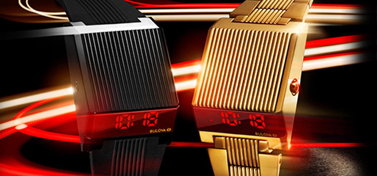 デジタルLEDディスプレイ搭載のCOMPUTRON復刻モデル|BULOVA
