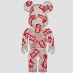 BE@RBRICK BlackEyePatch 400%|MEDICOM TOY